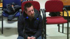 El Chicle durante su declaración en la Audiencia Provincial de A Coruña.