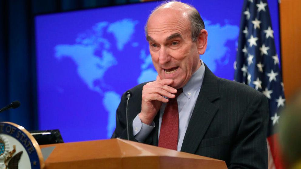 El enviado especial de Estados Unidos para la crisis en Venezuela, Elliot Abrams.