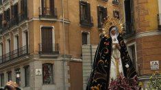 Horario y recorrido de las procesiones de hoy, Domingo de Ramos de la Semana Santa de Madrid 2019