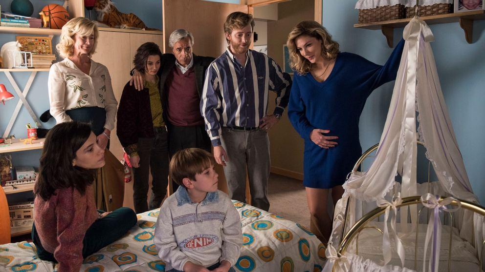 Toni teme que la llegada del bebé afecte a su hijo Santi