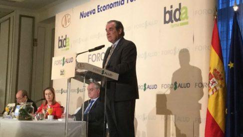 Jesús Aguilar, presidente del Consejo de Colegios de Farmacéuticos