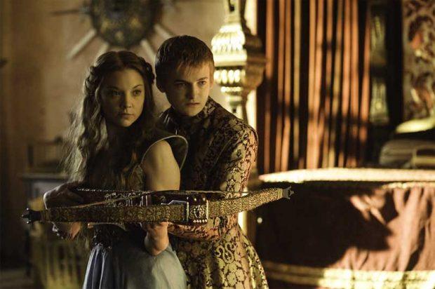 Margaery Tyrell y Joffrey