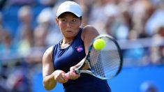 Tara Moore protagoniza la mayor remontada de la historia del tenis moderno. (AFP)