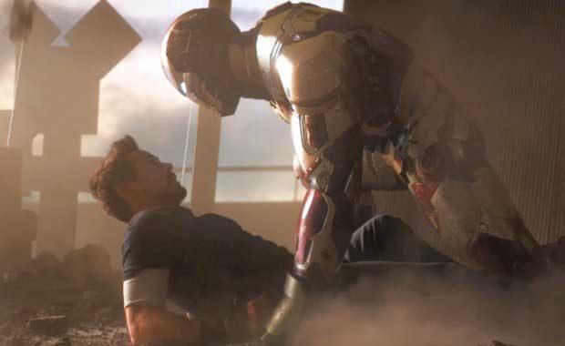 Una de las grandes escenas de 'Iron Man 3'