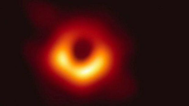 agujero negro fotografía