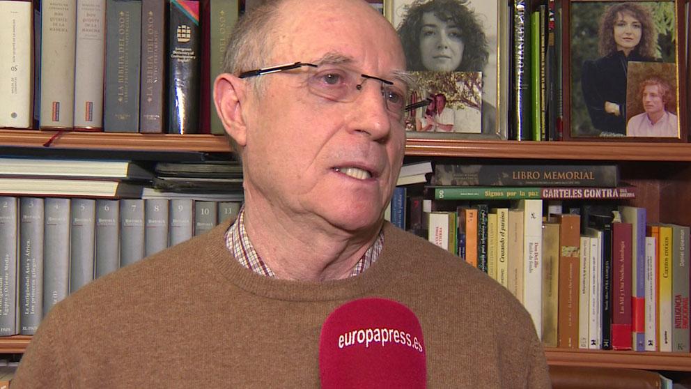 Ángel Hernández, el hombre que ayudó a su mujer enferma terminal a morir. Foto: Europa Press