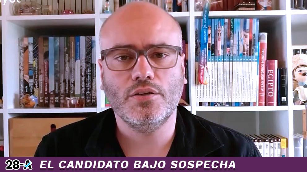 El candidato de Podemos por Alicante para las elecciones generales del 28-A, Jaume Monfort