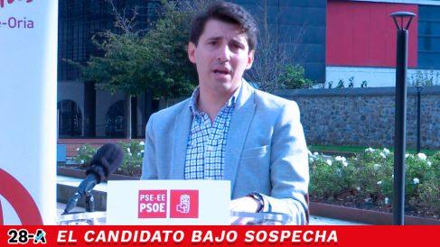 El número del PSOE por Guipúzcoa para el 28-A y alcalde de Lasarte-Oria, Jesús Zaballos