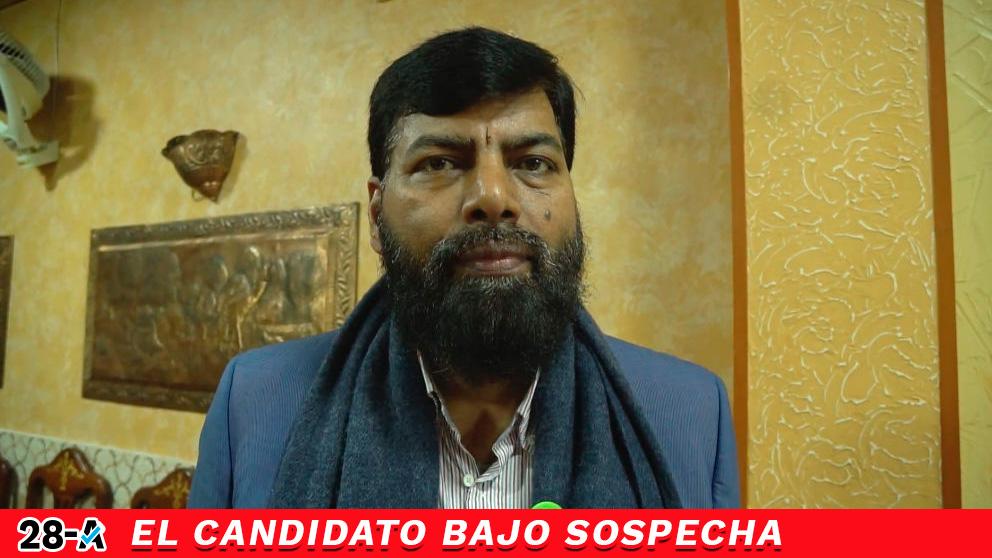 El candidato del PSOE por Barcelona para las elecciones generales del 28-A, Mohammad Iqbal Chauhdry