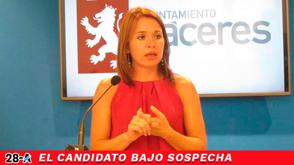 La cabeza de lista del PSOE por Cáceres para el 28-A, Belén Fernández