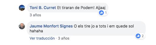 El nº 10 de Podemos por Alicante pidió
