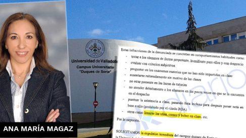 Ana María Magaz, la polémica profesora de la Universidad de Valladolid denunciada por sus propios alumnos