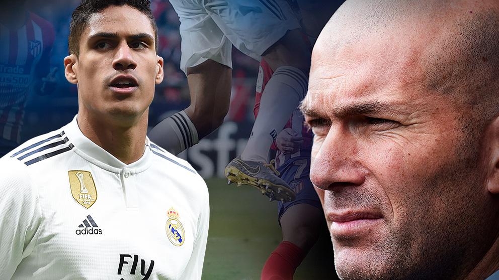 Zidane tiene una misión: convencer a Varane.