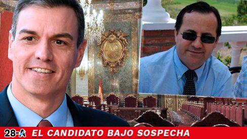 Pedro Sánchez y el número cinco del PSOE por Almería al Congreso, Felipe José Navarro Navarro