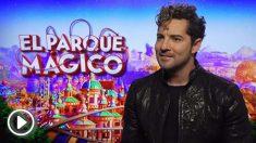 David Bisbal interpreta la canción principal de 'El Parque Mágico'. Foto: Paramount