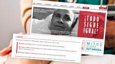 Página web de la Asociación Derecho a Morir Dignamente (DMD).