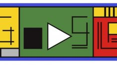 El Doodle de Google dedicado al centenario de la Bauhaus