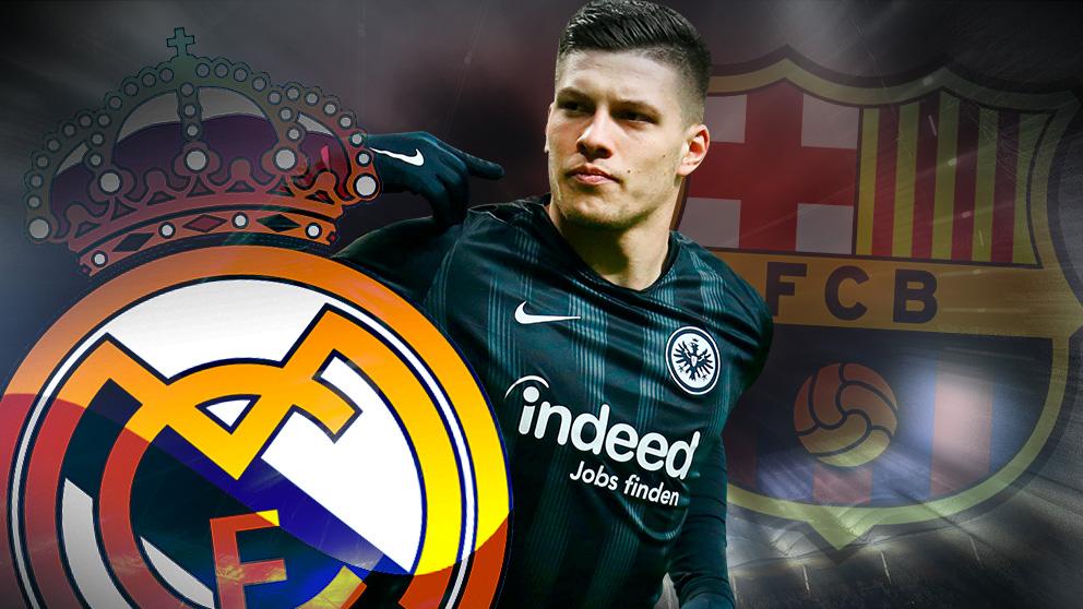 Jovic, nuevo jugador del Real Madrid.