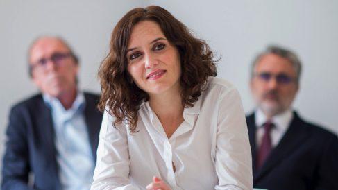 La candidata Isabel Díaz-Ayuso. (Foto. PP)