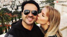 Luis Fonsi y su mujer