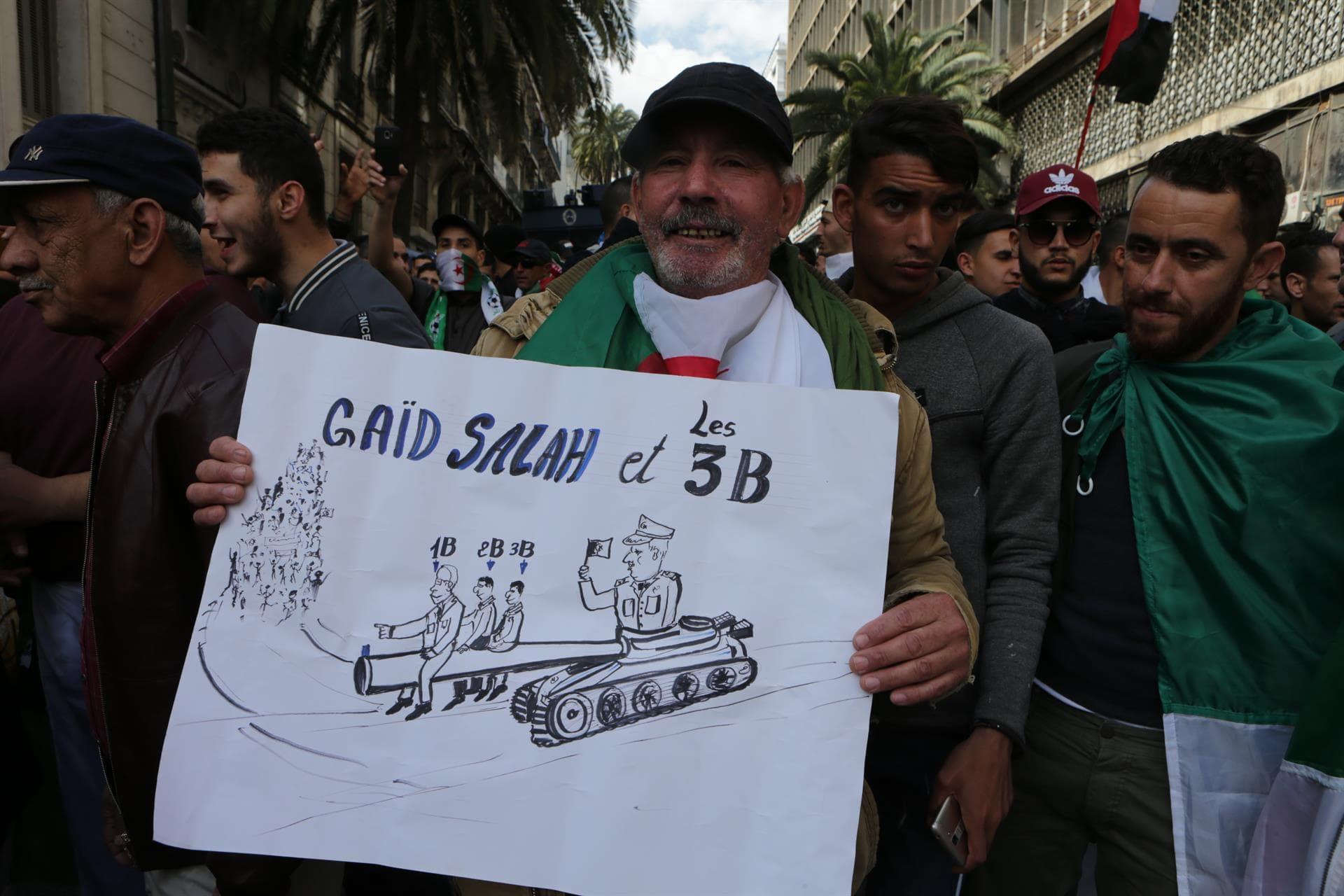 Manifestación en Argelia. Foto. EP-min