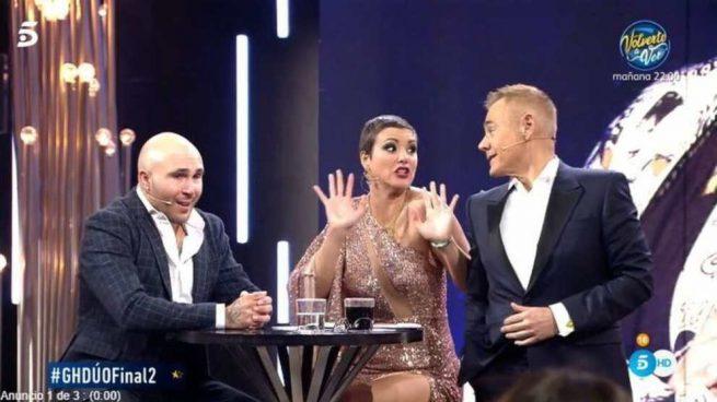 'GH DÚO' lidera las audiencias en su gran final con 3,8 millones de espectadores
