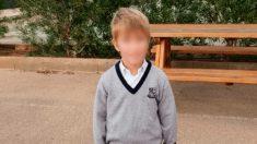 Samuel, el niño desaparecido en Calviá. Foto. Ministerio del Interior.