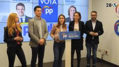 Andrea Levy, dirigente del PP. Foto. Redes Sociales PP.