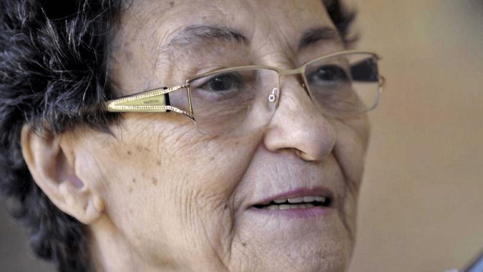 Francisca Aguirre. Foto. EFE.