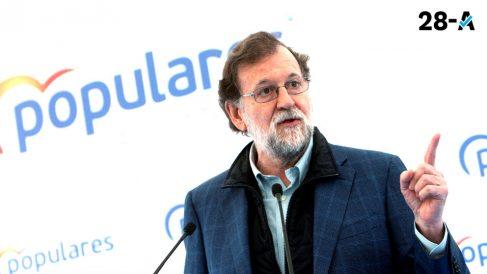 Mariano Rajoy en un acto de campaña 28-A. Foto. EP