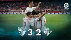 Liga Santander: Sevilla -Betis | Partido de fútbol hoy, en directo.