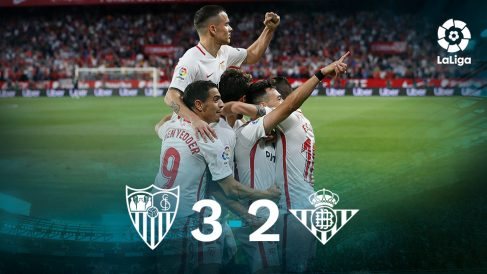 Liga Santander: Sevilla -Betis   Partido de fútbol hoy, en directo.