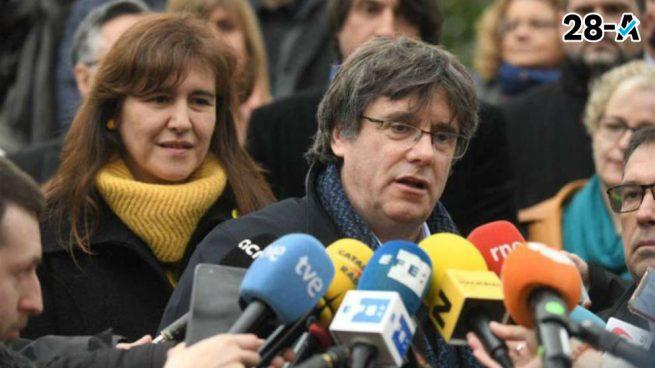 Mensaje de Puigdemont a Sánchez: «Para que haya investidura deben reconocer la autodeterminación»