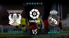 Leganés – Real Madrid: partido de la jornada 32 de la Liga Santander.