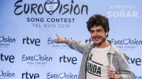 Miki en la 'London Eurovision Party 2019'
