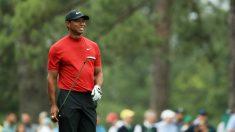 Tiger Woods en la última jornada del Masters de Augusta. (Getty)