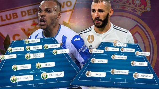 Leganés – Real Madrid: Lunes de resignación