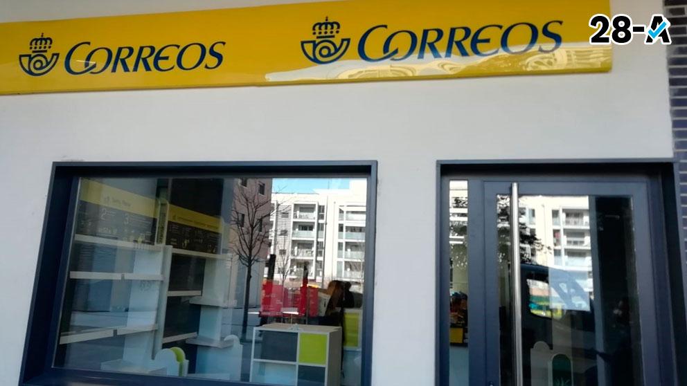 Oficina de Correos. Foto: Europa Press.
