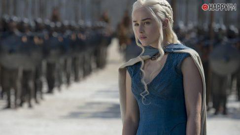 Daenerys, personaje principal de Juego de tronos