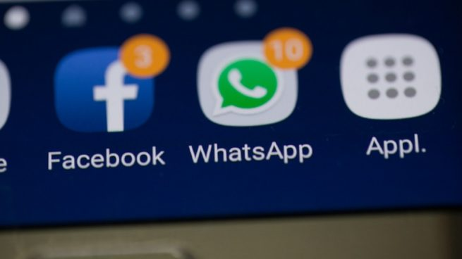 caída mundial de WhatsApp