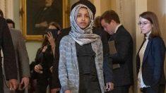 La congresista musulmana Ilhan Omar mencionada en un tuit del presidente de los EEUU, Donald Trump. Foto: Europa Press