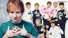 Ed Sheeran, una de las grandes sorpresas del disco de BTS