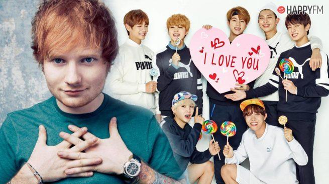 Ed Sheeran ha compuesto una canción para el nuevo álbum de BTS