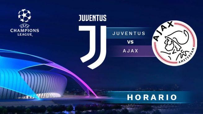 Juventus – Ajax: hora y dónde ver el partido de la Champions League
