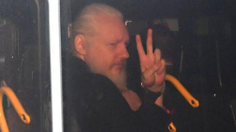 El fundador de Wikileaks, Julian Assange, detenido en la embajada de Ecuador. Foto: Europa Press