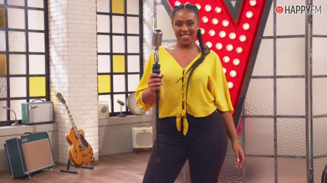 """Linda Rodrigo ('La Voz') en Happy FM: """"Luis Fonsi me enseñó que la música es para compartir, no para competir"""""""