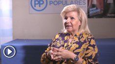 Ángeles Pedraza, en la entrevista con OKDIARIO.