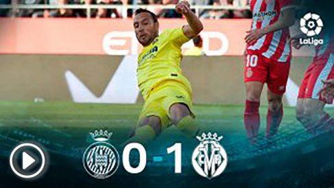 El Villarreal gana al Girona. (EFE)
