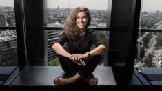 Susana Voces, en la sede de Deliveroo en Madrid