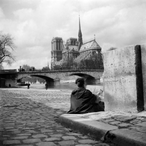 Así era la catedral de Notre Dame antes del incendio. Foto: AFP